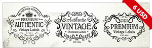 9 Scalable Vintage Badges